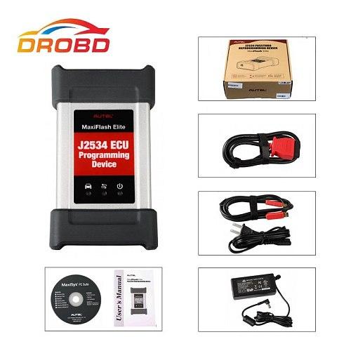 Autel MaxiFlash Pro J2534 ECU Programming Tool Works with Maxisys 908/908P Autel J2534 Diagnostic Tool