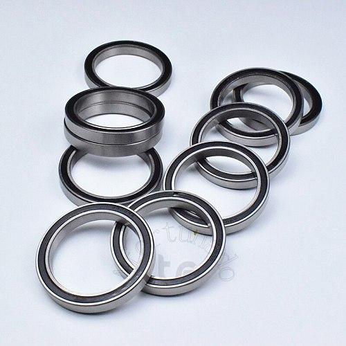 6808RS 40*52*7(mm) 1piece  bearing ABEC-5 Rubber sealed bearing Thin wall bearing 6808 6808RS chrome steel  bearing