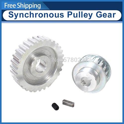 2pcs metal synchronous Pulley gear/motor belt gear/drive wheel/gt2 9.5mm pulley SIEG C3-027-148