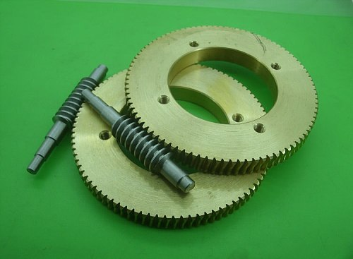 1Set Gear Diameter:93mm  1:90  Ratio 1M 90T Steel Worm Gear  Reduction Gear