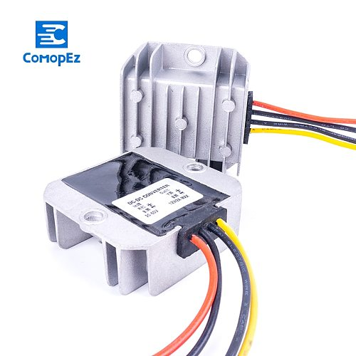 12V-24V to 5V 3A 5A 8A 10A 15A 20A 30A DC Converter Buck Step Down Module Regulator Voltage Power DC Converters for Cars Solar