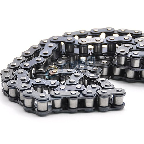 1.524 Meters Roller Chain Curve Plate Conveyor Driving Industrial Chain Carbon Steel Single Row Short Pitch