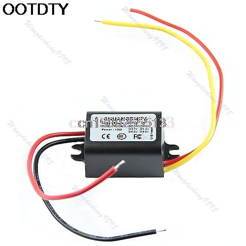 Hot Waterproof DC/DC Converter 12V Step Down to 9V 3A 15W Power Supply Module