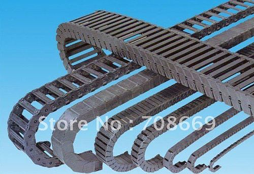 1 Cable drag chain wire carrier 7*7mm R18 1000mm (40 )