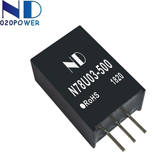 1pcs new dc dc converter 12V 24V 36V 48V 60V 72V to 5V 12V 0.5A 6W high efficiency dcdc power module supply quality goods