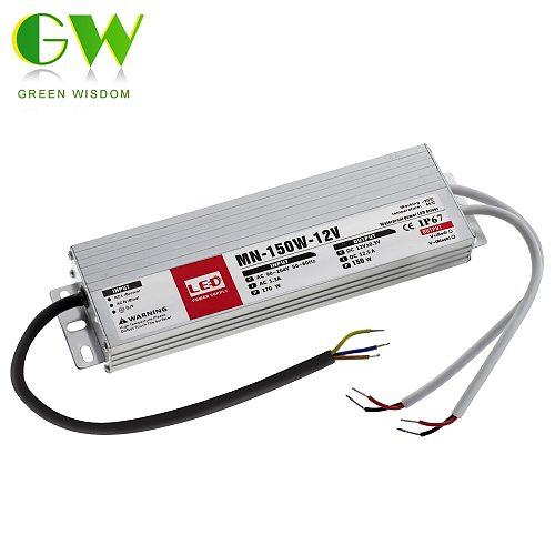 IP67 Waterproof Switching Power Supply 12V 24V LED Driver 10W 20W 30W 60W 100W 200W 300W Lighting Transformers for Outdoor Light