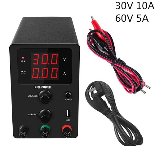 30v 10a Adjustable Laboratory Power Supply 60V 5A Switching Lab Power Supplies Dc Switched Source Voltage Current Regulator
