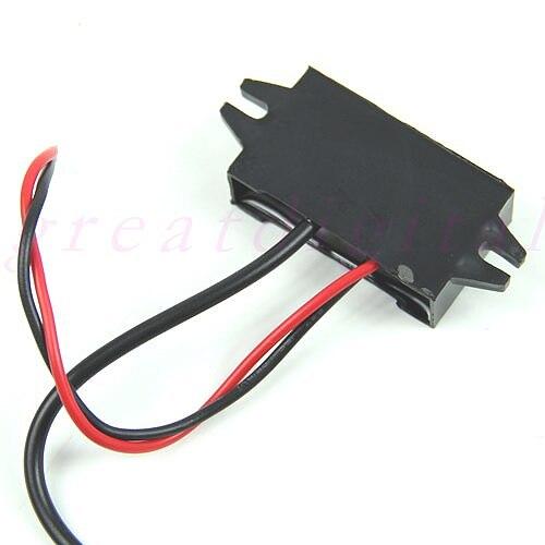 USB Car Power Adapter DC 12V to 5V 3A 15W Waterproof DC Converter Mini