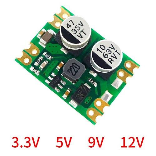 1pc DC-DC Industrial Asynchronous Buck Module Output 5V 9V 12V 12V To 24V 36V To 12V 55V to 12V DC Step Down Module DM01-52