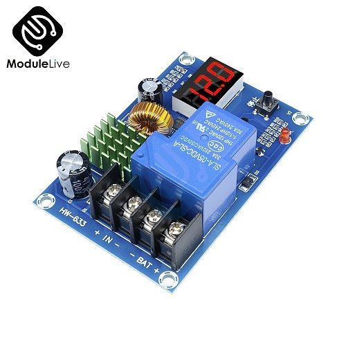 XH-M604  lead-acid lithium battery charging control module charge controller protection switch 12V 24V For Home charger solar
