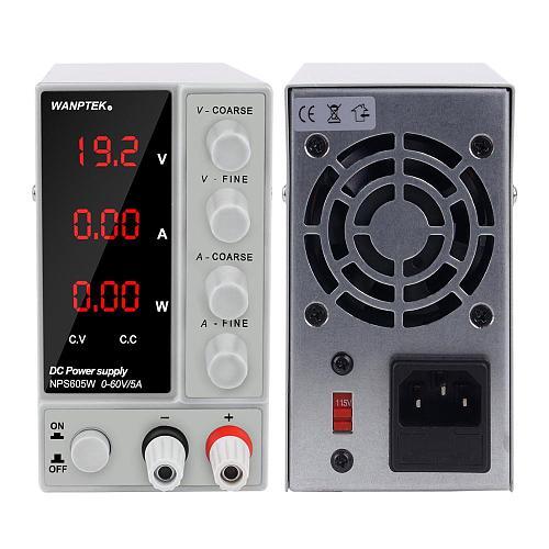 Adjustable DC Lab Power-Supply 30V 10A Laboratory Power Supplies Digital Power Source Voltage Regulator Bench 60v 120v 3a 5a