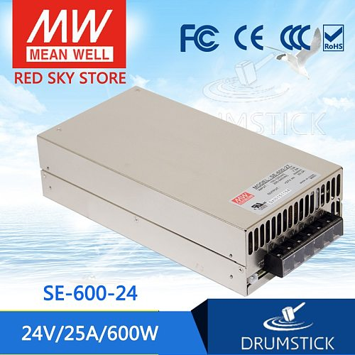 Steady MEAN WELL SE-600-24 24V 25A Single Output meanwell SE-600 600W Power Supply