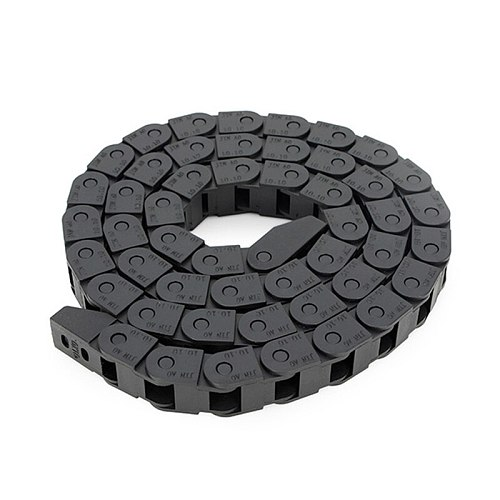 SULEVE New 10 x 10mm 10*10mm L1000mm Nylon Plastic Cable Drag Chain Wire Carrier for CNC Router Machine Tools