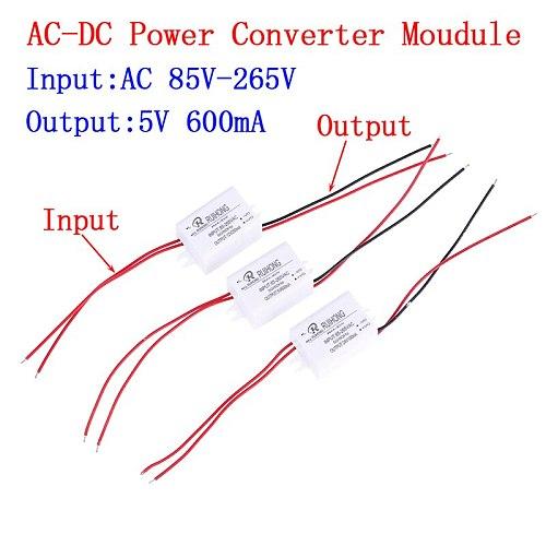 1PC WholeSale AC-DC Power Supply Module AC 110V 220V 230V To DC 5V 12V 24V Mini Buck Converter