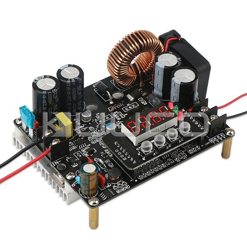 DC Buck Power Supply Module DC 10V~75V to 0~60V 12A 720W Converter/Voltage regulator CNC Controller DC 12V 24V 36V 48V Adapter