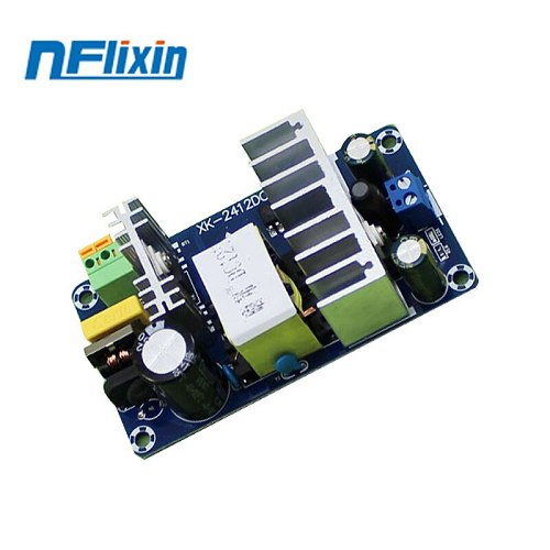 100W 6A-8A Stable High Power Switching Power Supply Board AC 110V 220V to DC 12V Power Transformer Step Down Voltage Regulator