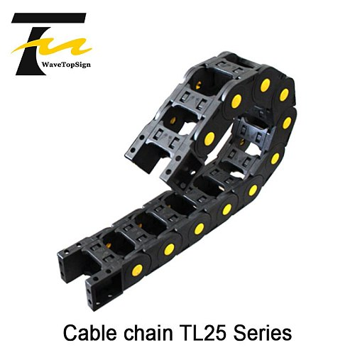 Plastic Towing Chain TL25 Series Nylon Machine Tool Cable Towing Chain is Suitable For Engraving Machine