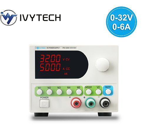 30V 5A DC Power Supply Adjustable High Precision 4 Digit Display Mini Laboratory Power Supply Voltage Regulator IPS3206