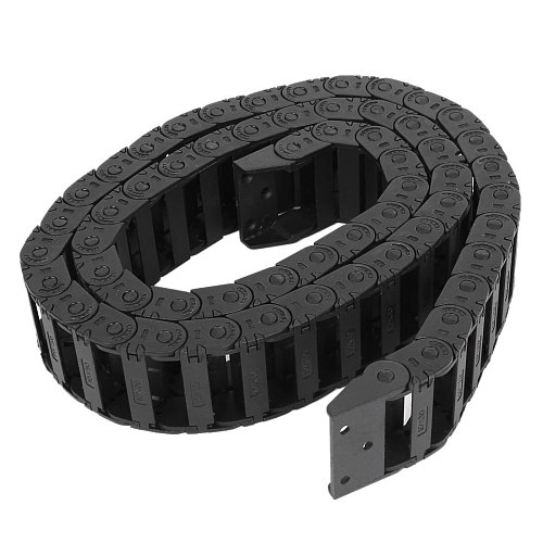 100 cm R3.5cm plastic open type wire energy chain drag chain 10mm x 30mm Drop Shipping