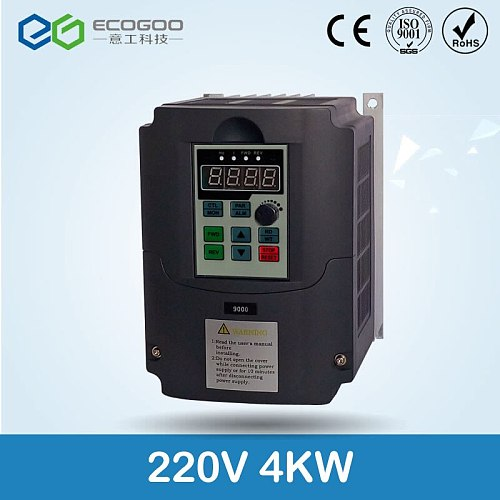 2.2kw/4kw 220v AC Frequency Inverter & Converter Output 3 Phase 650HZ ac motor water pump controller /ac drives