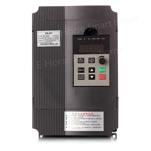 VFD 1.5KW/2.2KW/4KW CoolClassic frequency converter ZW-AT1 3P 220V Output Cnc Spindle Motor speed Control wcj4