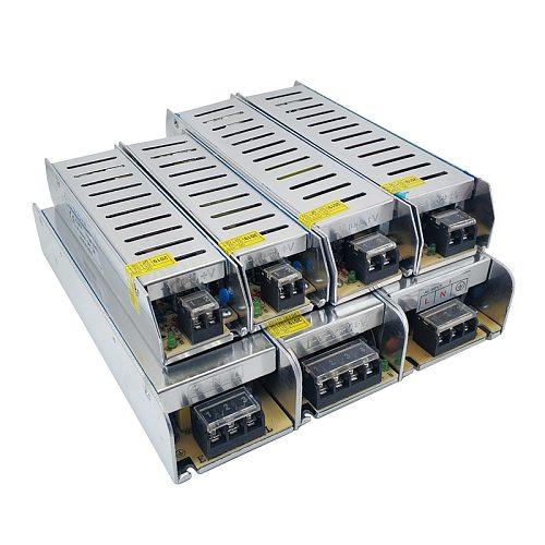 SMPS 24 12 V Volt LED Switching Power Supply AC-DC 24V AC DC 220v to 12V 3A 5A 10A 15A 30A Long Power Supply SMPS Led Driver