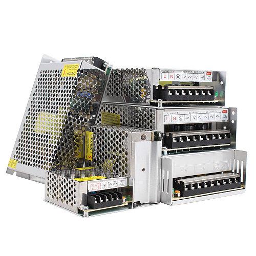 Power Supply 220v 4000W LED Driver 12v 5V 24V 36V 48V 1A 2A 3A 6A 10A 20A Lighting Transformer Switch Source 24v Power Adapter