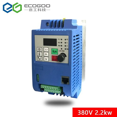 For Russian CE 380V 2.2kw 3 phase input and 3 phase output frequency converter/ ac motor drive/ VSD/ VFD/ 50HZ Inverter