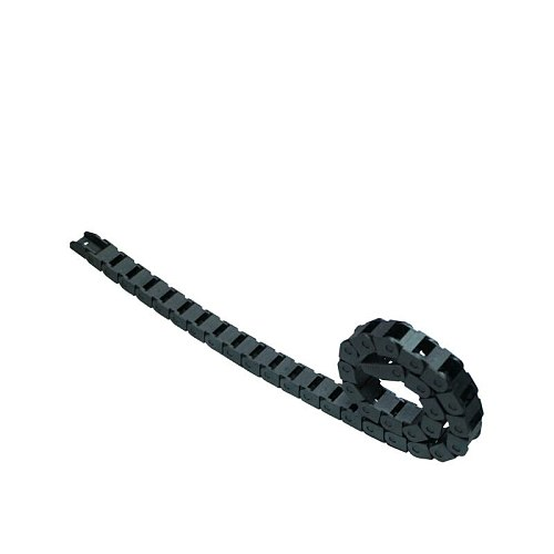 Transmission Chains 7x 7mm 1M Non Snap-Open Plastic Towline Cable Drag Chain for CO2 Laser Engraving Cutting Machine