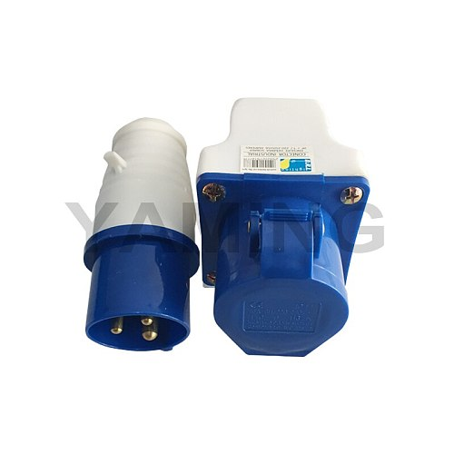 Electric Industrial Appliance Industry Use Plug And Socket 16A 3 Pins