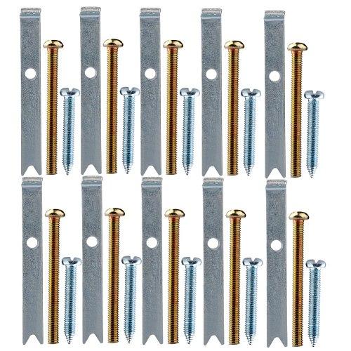 1 Set 86 Type Switch Panel Bottom Box Repair Device Wire Box Repair Rod