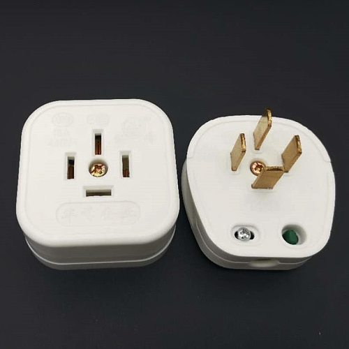 Industrial Power Plug Socket 4  flat pin 3 Phase 4 Wire 3P4W  AC 440V 16A  electrical outlet chinese plug set