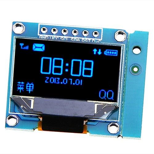 Electronic OLED Display Module 0.96 inch 128X64 Yellow Blue White OLED I2C IIC Serial LCD LED SSD Display Module SSD130623