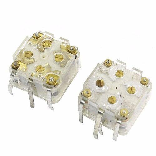 443DF Model 20-126pF Shaft Radio Parts Variable Capacitor