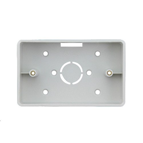 Type 118 American Italian type of power supply double socket junction box  118-01