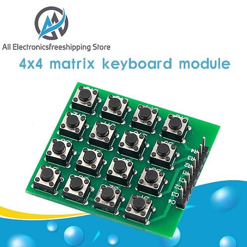 4x4 Matrix 16 Keypad Keyboard Module 16 Button Mcu for Arduino