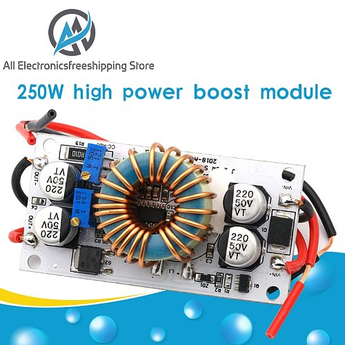 DC DC Boost Converter Constant Module Current Mobile Power Supply 250W 10A LED Driver Module Non-isolated Step Up Module