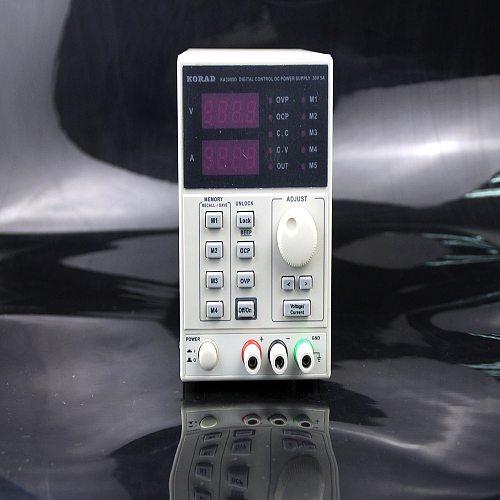 KA3005D 0~30V 0~5A Precision Variable Adjustable DC Power Supply SVC Single Phase 5.0kg (11.02lb.) Set