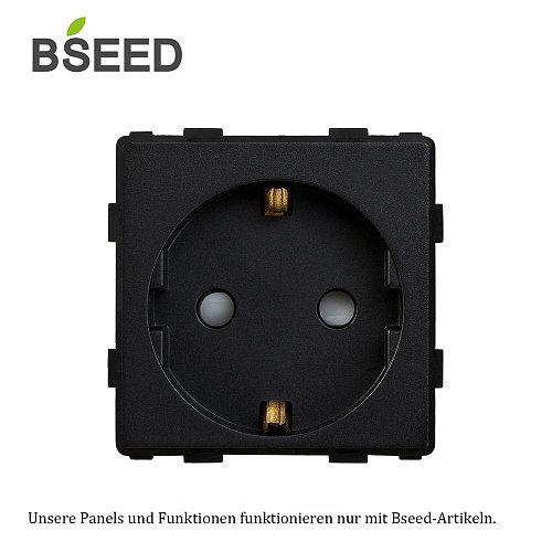 BSEED EU Power 16A Electric Function Ket Only Electrical Outlet 110V - 250V Socket
