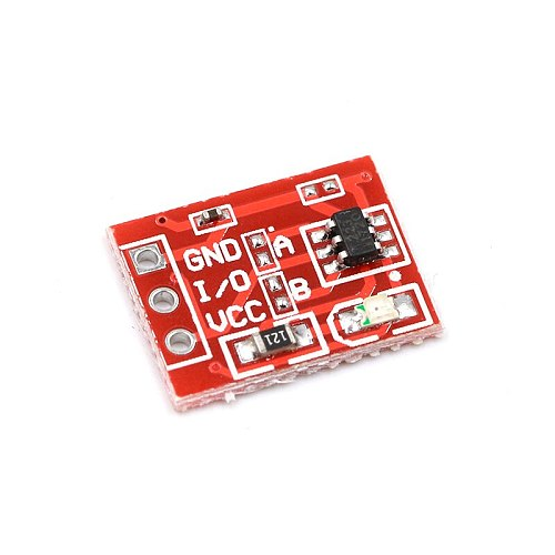 NEW TTP223 Touch button Module Capacitor type Single Channel Self Locking Touch switch sensor For Arduino