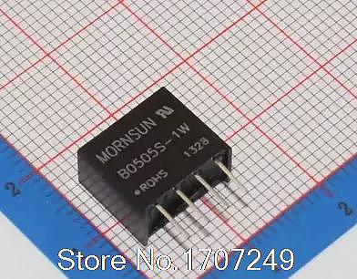 Free shipping 10pcs New original MORNSUN Isolated power module B0505S-1WR2 B0505S-1W B0505S SIP-4 DC-DC 5V turn 5V