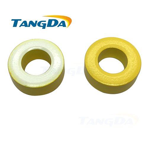 KT106-26 Iron powder cores T106-26 OD*ID*HT 27*14*11.5 mm 93nH/N2 75ue Iron dust Ferrite Toroid Core toroidal yellow white AG