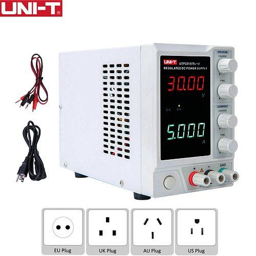 UNI-T UTP3315TFL-II Linear DC Power Supply 30V 5A Single-channel Voltage Current Adjustable Electronics DIY Benchtop Power Meter