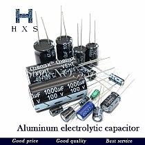 20PCS 35V-470uF aluminum electrolytic capacitor 4V 10V 16V 25V 35V 100UF 220UF 330UF 470UF 680UF 1000UF 47UF 1500UF 10UF 22UF