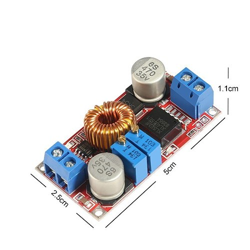 XL4015 E1 5A DC to DC CC CV Lithium Battery Charger Module Step Down Charging Board Led Power Converter Lithium Charger Board