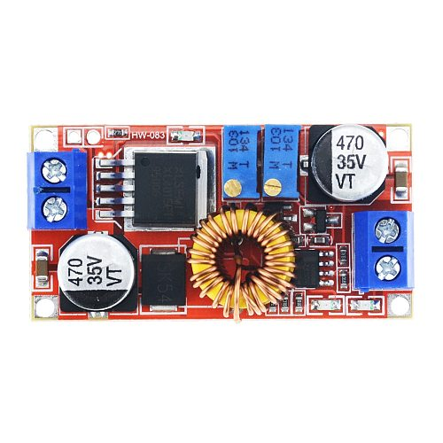 1PCS 5A Adjustable Step-down Power Supply Buck Voltage Converter Regulator Module Large Current Constant Current And Voltage