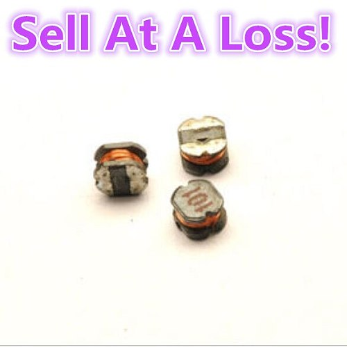 25pcs/lot CD32 100UH SMD Power Inductor M54B 101 Electronic Components Sell At A Loss USA Belarus Ukraine