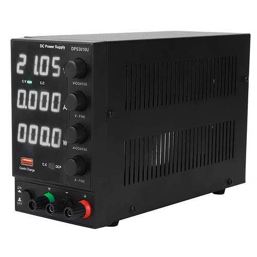 DPS3010U Adjustable Power Supply USB Fast Charging 30V 10A 4-Digit Maintenance Power Supply