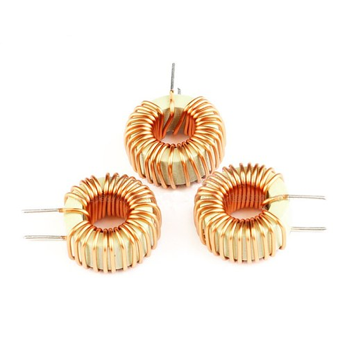 5pcs Naked 33UH 5A Magnetic Induction Coil Toroidal inductor Winding Inductance For LM2596 High Quality