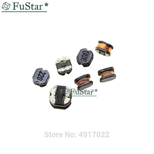 10pcs/lot SMD Winding wafer Power Inductor CD75 7.8*7*5MM 3.3uH 2.2uH 4.7uH 6.8uH 10uH 22uH 33uH 47uH 100uH 220uH 100 220 330